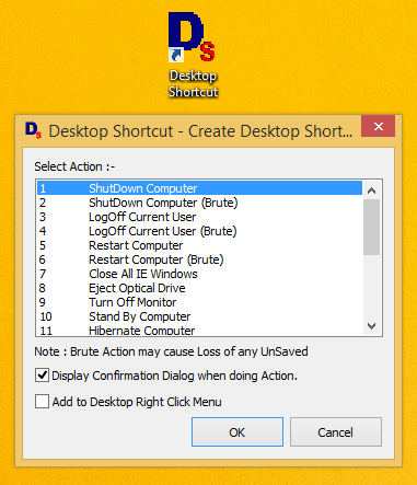 Shutdown Shortcut for Windows