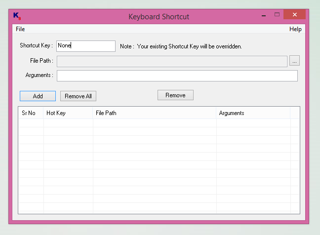 Keyboard Shortcut Software for Windows